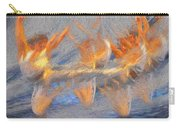 Jumped Over The Freeway - Dancing California Fires Carry-all Pouch