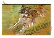 Jumping Dog Schlick 1908 Carry-all Pouch
