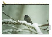 Junco In New Fallen Snow Carry-all Pouch