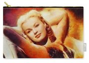 June Haver, Vintage Hollywood Actress Carry-all Pouch