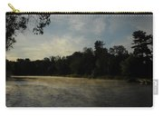 June Mississippi River Misty Dawn Carry-all Pouch