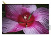 Junes Hibiscus 1 Carry-all Pouch