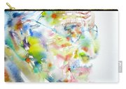 Jung - Watercolor Portrait.4 Carry-all Pouch