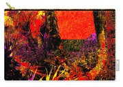 Jungle At The Corner Of Concha And Laconia Carry-all Pouch by Eikoni Images