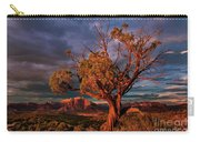 Juniper And Storm Back Of Zion National Park Utah Carry-all Pouch