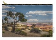 Juniper Tree On A Mesa Carry-all Pouch
