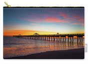 Juno Pier Colorful Sunrise Carry-all Pouch