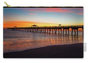 Juno Pier Colorful Sunrise Panoramic Carry-all Pouch