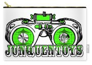 Junquentoys Test Pattern Goggles Carry-all Pouch