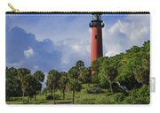 Jupiter Lighthouse Sq Carry-all Pouch