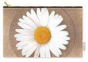 Just A Lonely Flower On Canvas Carry-all Pouch