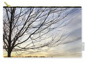 Just A Tree And Clouds Carry-all Pouch