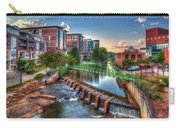 Just Before Sunset 2 Reedy River Falls Park Greenville South Carolina Art Carry-all Pouch