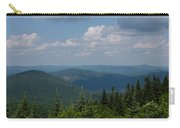 Just Climb Mountains And Breathe Deeply Carry-all Pouch
