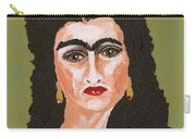 Just Frida Carry-all Pouch