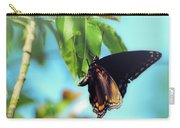 Just Hanging Out - Red-spotted Purple Butterfly Carry-all Pouch