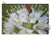 Just Having A Lunch. Marsh Labrador Tea Carry-all Pouch
