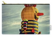 Just Passing Through  Hot Air Balloon Carry-all Pouch by Bob Orsillo