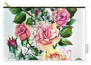 Just Roses Carry-all Pouch