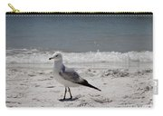 Just Strolling Along Carry-all Pouch by Megan Cohen