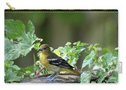 Juvenile Baltimore Oriole Carry-all Pouch