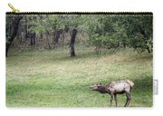 Juvenile Bull Elk Grazing 2 Carry-all Pouch