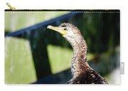 Juvenile Cormorant Profile Carry-all Pouch