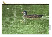 Juvenile Male Wood Duck Carry-all Pouch