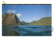 Kaaawa Valley From Ocean Carry-all Pouch