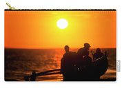 Kaanapali Beach Outrigger Sunset Carry-all Pouch