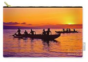 Maui Hawaii Kaanapali Outrigger Sunset Carry-all Pouch