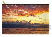 Ka'anapali Sunset Fire Carry-all Pouch