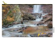 Kaaterskill Falls Autumn Portrait Carry-all Pouch