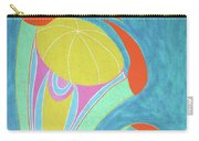 Kabuki Dancer By Ken Tesoriere Carry-all Pouch