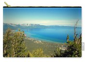 Lake Tahoe From The Top Of Heavenly Gondola Carry-all Pouch