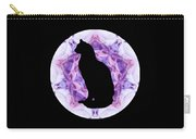 Kaleidoscope Cat Silhouette Carry-all Pouch by Deleas Kilgore