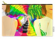 Kaleidoscope Girl Carry-all Pouch