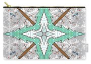 Kaleidoscope Of Winter Trees Carry-all Pouch