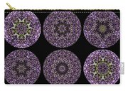 Kaleidoscope Sampler Carry-all Pouch by Teresa Mucha