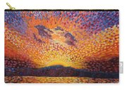 Kaleidoscope Sunrise Carry-all Pouch