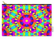 Kaleidoscopic Mosaic Carry-all Pouch
