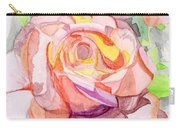 Kaleidoscopic Rose Carry-all Pouch