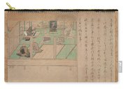 Kamakura Period    Illustrated Biography Of Hnen Shikotokden E Carry-all Pouch