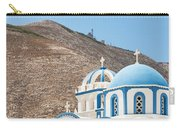 Kamari Church And Mountain Carry-all Pouch
