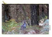 Kangaroo In The Forest Carry-all Pouch