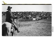 Kansas: Cattle, C1900 Carry-all Pouch