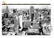 Kansas City Skyline - Ink Carry-all Pouch