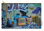 Kansas City Jazz Mural Carry-all Pouch