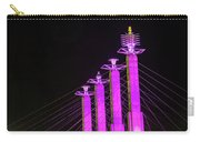 Kansas City Pylons In Pink Carry-all Pouch