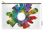 Kansas City Small World Cityscape Skyline Abstract Carry-all Pouch